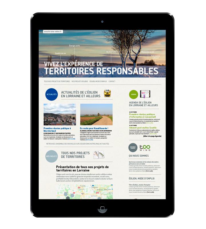 Homepage lorraine-eolien.com